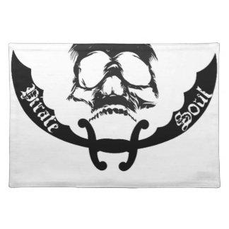 Piraten-Soul-Einzelteile Stofftischset