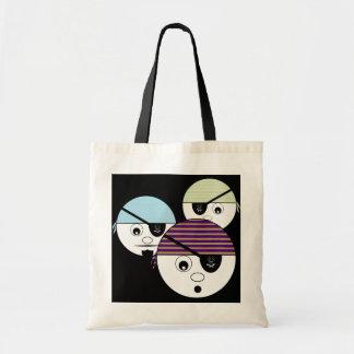 Piraten-Tasche Budget Stoffbeutel