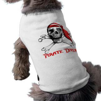 Piraten-Taucher-HundeT - Shirt