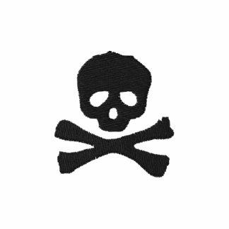 Piraten-Totenkopf mit gekreuzter Knochen