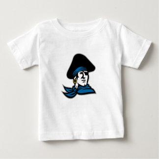 Piraten-Tricorn Hut-Halstuch Retro Baby T-shirt