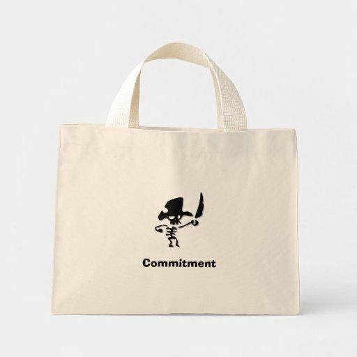 Piraten-Verpflichtung Einkaufstaschen