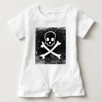 Piratenflagge Baby Strampler