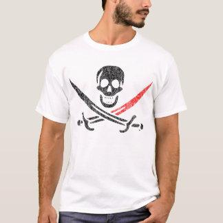Piratenflagge BloodTip Vintages Blackbeard T-Shirt