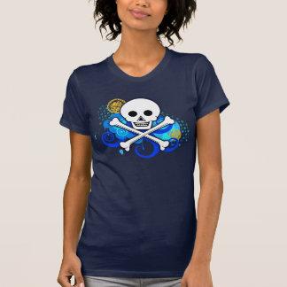 Piratenflagge die 2,0 erweiterten Farben der T-Shirt