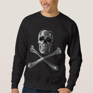 Piratenflagge-Schädel-Sweatshirt Sweatshirt