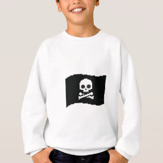 Piratenflagge Sweatshirt