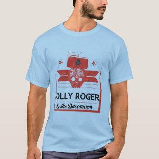 Piratenflagge und das Buccaneers-Shirt T-Shirt
