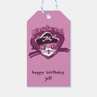 Piratenkatze süßer Kitty-Cartoon Geschenkanhänger