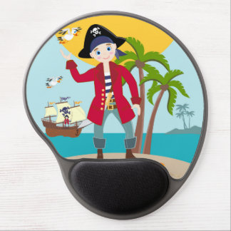 Piratenkindergeburtstags-Party Gel Mousepad