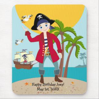 Piratenkindergeburtstags-Party Mauspad
