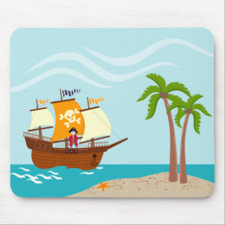 Piratenkindergeburtstags-Party Mousepad
