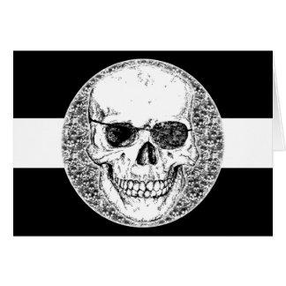 Piratenschädel Karte