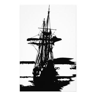 Piratenschiff Briefpapier