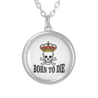 Piratenslogan Halskette Mit Rundem Anhänger