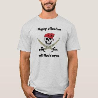 Piratfloggings-Piratenflagge-T - Shirt