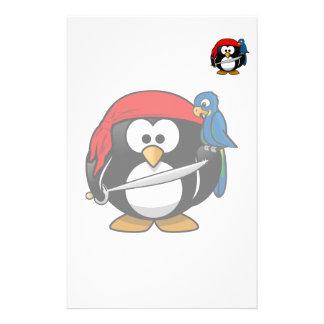 Piratpenguin-niedliche Kunst Briefpapier
