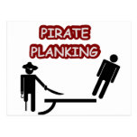 PiratPlanking Postkarten