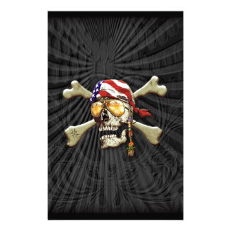 PiratScull Briefpapier