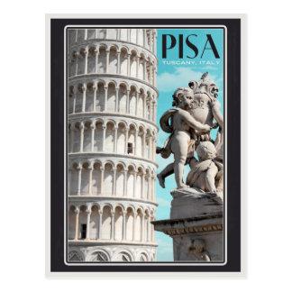 Pisa - der lehnende Turm Postkarte