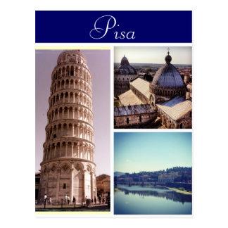 Pisa-Szenen Postkarte