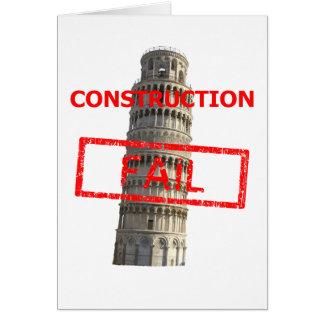 Pisa-Turmbau versagt Karte
