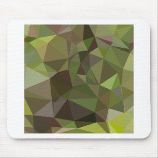 Pistazien-grüner abstrakter niedriger mousepad