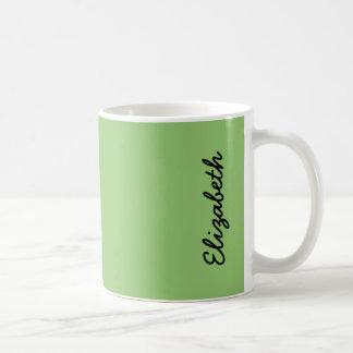 Pistazien-Normallack Kaffeetasse