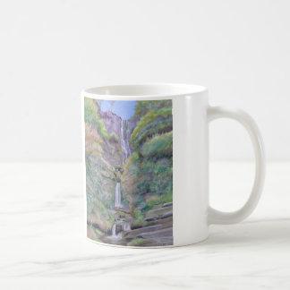 Pistyll Rhaeadr Wasserfall Kaffeetasse
