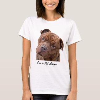 """Pitbull """"Benz"""" der Zäune für Fido Geschenkartikel T-Shirt"""