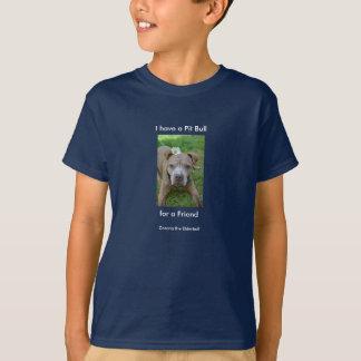 Pitbull-Freund T-Shirt