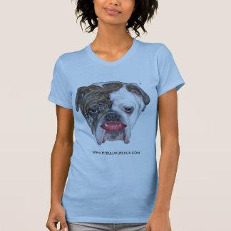 PITBULL IM LIPPENSTIFT T-Shirt
