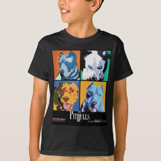 PITBULL POP-KUNST T-Shirt