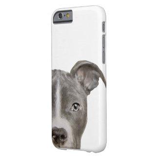 Pitbull, ursprünglicher Malereidruck Barely There iPhone 6 Hülle