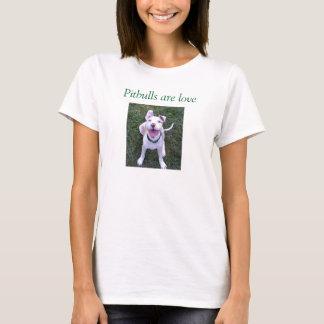 Pitbulls sind Liebe T-Shirt