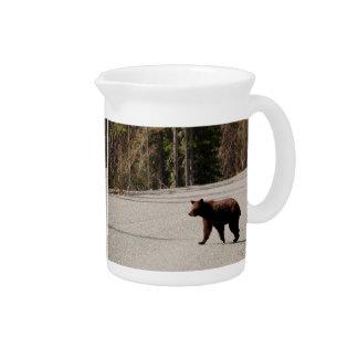 Pitcher Bär in Alaska Getränke Pitcher