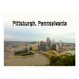 Pittsburgh, Pennsylvania Postkarte