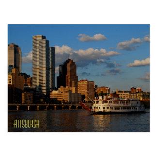 Pittsburgh Postkarte