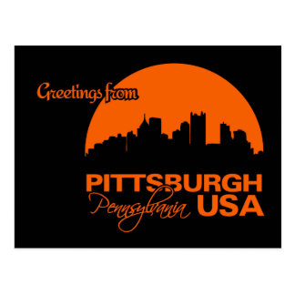 PITTSBURGH-Postkarte - kundengerecht