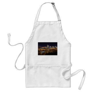 Pittsburgh-Skyline nachts Schürze
