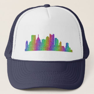 Pittsburgh-Skyline Truckerkappe