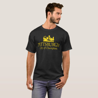 PITTSBURGH-STADT DES MEISTER-T - SHIRT