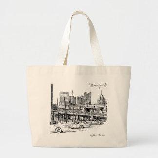 PittsburghluxusTaschen-Tasche Jumbo Stoffbeutel