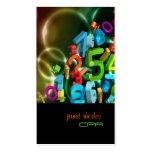 PixDezines 123, CPA/diy Farben Visitenkartenvorlage