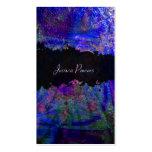 PixDezines abstrakt/Kobalt/Indigo/metallische Visitenkarten