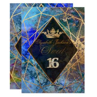 PixDezines abstrakte Galaxie/Bonbon+16 14 X 19,5 Cm Einladungskarte