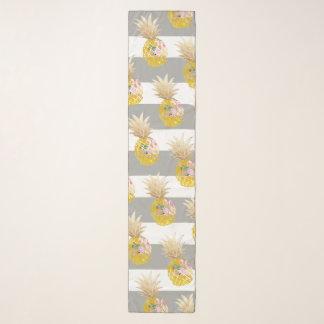 PixDezines Aloha Pineapples/DIY Streifen Schal