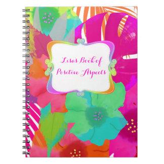 PixDezines Bali kai/Buch der positiven Aspekte Notizblock