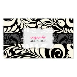 PixDezines bellisimo Damast/diy Hintergrundfarbe Visitenkarten