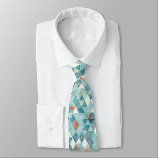 PixDezines Boho geometrische/justierbare Dreiecke Individuelle Krawatte